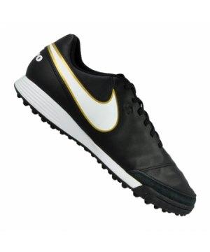 Nike Park II TF Gr.47,5 Schwarz Kunstrasen Fussballschuhe