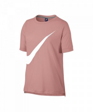 d0470acf3b1faa nike-top-t-shirt-damen-rosa-weiss-f697-