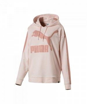 puma hoodie weiß rosa
