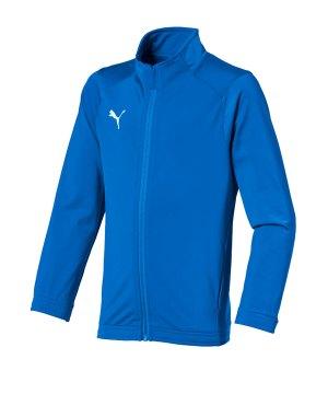 puma trainingsjacke herren blau