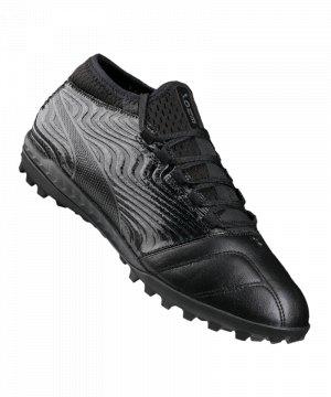 puma-one-18-3-tt-turf-schwarz-grau-f02-cleets-shoe-multinocken-fussballschuh-lederschuh-104542.jpg