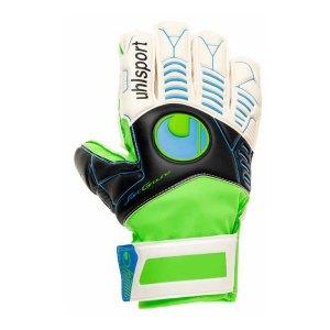 uhlsport-ergonomic-soft-training-handschuh-f01-weiss-schwarz-gruen-blau-1000365.jpg