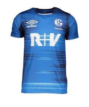 M Umbro FC Schalke 04 Short Home 2019//2020 Herren wei/ß//blau
