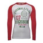 FC Augsburg Shirt langarm Zirbelnuss EST. 1907
