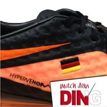 Schuhbestickung - Beispiel 3